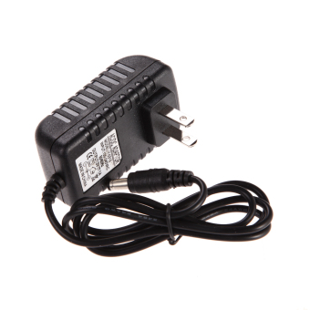 AC 100-240V Converter Adapter DC 5.5 x 2.5MM 3V 1A 1000mA Charger US Plug (Black)(Intl)