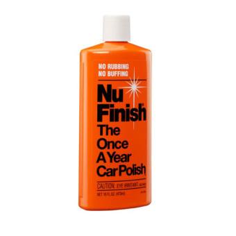 Dung dịch lau bóng và bảo vệ sơn xe Nu Finish Car Polish NF-76 473ml