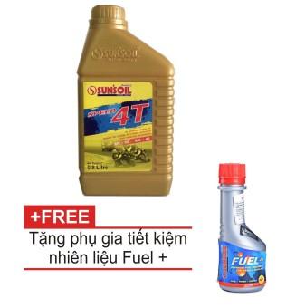 Nhớt xe số cao cấp Sun'soil Speed 4T tặng phụ gia súc béc xăng Tiết kiệm nhiên liệu Sun'soil Fuel+