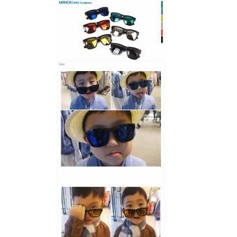 Kính mát thời trang trẻ em cao cấp nhập khẩu Hàn Quốc hiệu Aglaia màu Gold