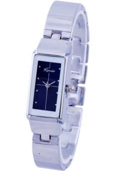 Đồng hồ nữ dây thép không gỉ Kimio K874 (Xanh Đậm)