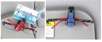 Kẹp kính trên ôtô mẫu 2