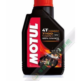 Nhớt tổng hợp cao cấp cho mô tô PKL xe máy Motul 7100 4T 10W50 1L