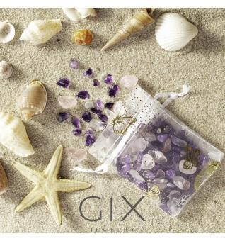 Đá phong thủy thạch anh tự nhiên Gix Jewery-GGS-0013