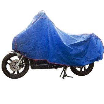 Bạt phủ xe máy Huy Tuấn (Xanh dương)
