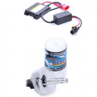 Bộ đèn xenon HID H3 xe ôtô 35W 4300K (Vàng trắng)