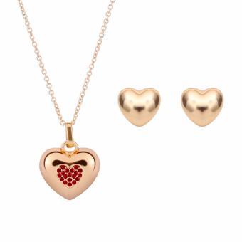 Bộ trang sức trái tim Tim Accessories 0909