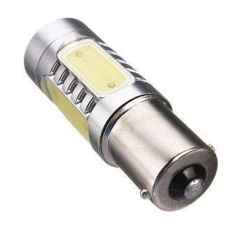 1156 BA15S COB LED Car Turn Signal Light 10-24V Pure White
