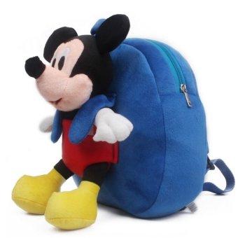 Ba lô chuột bông Mickey gắn rời QTT (Xanh)