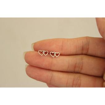 Khuyên Tai Thời Trang Bạc S925 Italia Mini Jewelry Lde0385(Bạc)
