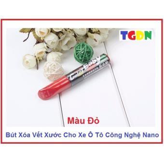 Bút Xóa Vết Xước Cho Xe Máy, Ô Tô Công Nghệ Phủ Màu Nano (Đỏ)