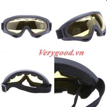 Kính Chống Bụi UV400- vàng