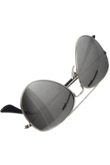 LALANG Kids UV Protection Sunglasses (Silver/White)