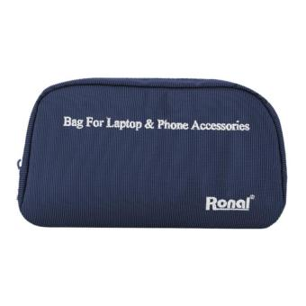 Túi phụ kiện cho laptop và điện thoại - Ronal TPK (Xanh)
