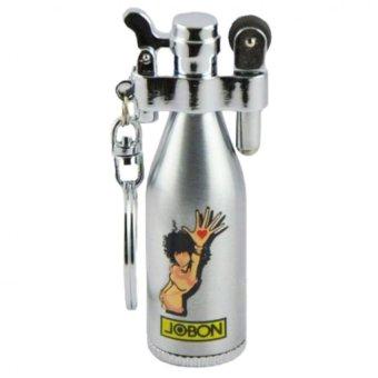 Bật lửa đá xăng Jobon hình chai rượu F506 (Bạc)