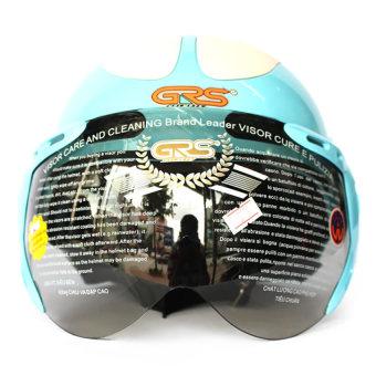 Mũ bảo hiểm có kính GRS102 (Xanh)