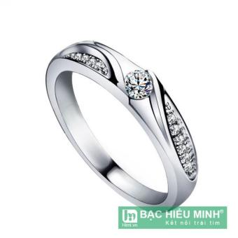 Nhẫn nữ Bạc Hiểu Minh nu360