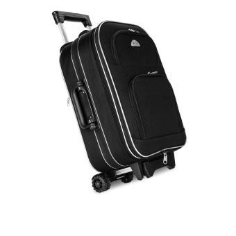 Vali du lịch kéo tay xoay 2 chiều Biti 20 inch màu Đen (Hộp) + Túi đeo chéo Simili cao cấp Laka màu đen (trị giá 300.000đ)