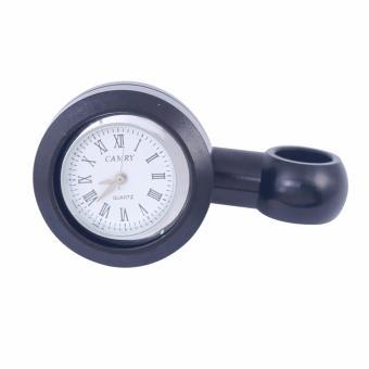Đồng hồ thời gian gắn xe máy (đen)