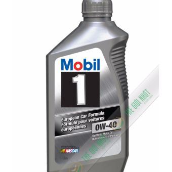 Nhớt tổng hợp cao cấp Mobil 1 SAE 0W40 Full Sythetic 1L (nhập khẩu USA)