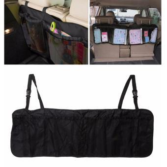 Túi đựng đồ đa năng treo sau ghế cốp xe hàng Hàn Quốc CS479 (Đen)