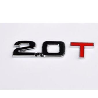 Decal dung tích ô tô (2.0T)