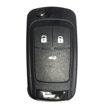 Vỏ chìa khoá dành cho xe Chervolet Cruze Mishop Mishop5 (Đen)