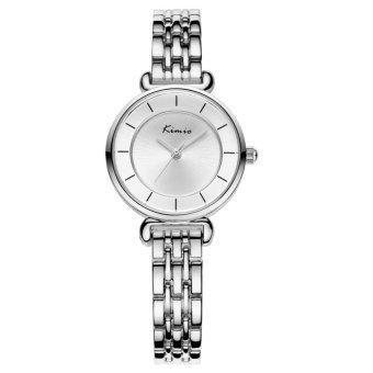 Đồng hồ nữ dây thép không gỉ Kimio KW6028S-S01 mặt trắng