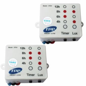 Bộ 2 công tắc cảm biến ánh sáng TPE ST01