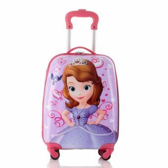 Vali kéo ABS chữ nhật hình công chúa sofia