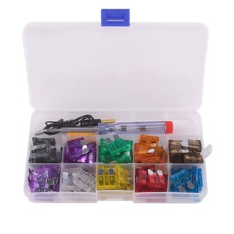 100pcs Blade Fuse Assortment Auto Car Truck Boat Motorcycle Fuses - INTL