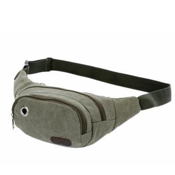 túi đeo bụng, chéo tiện lợi cho các chuyến du lịch, dã ngoại, hay các môn thể thao ngoài trời H184(XANH)