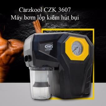 Máy bơm lốp kiêm hút bụi ô tô Carzkool 3607 cao cấp