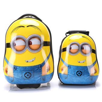 Bộ vali kéo và balô Minion by CeciLia