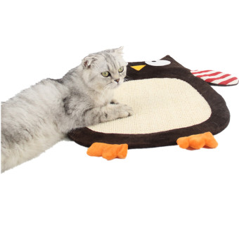 BolehDeals Cat Kitten Scratch Mat Sisal Pad Scratcher Seize Board Post Catnip Bed Owl - intl