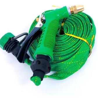 Vòi phun xịt nước rửa xe tưới cây đầu đồng dây 10m HQ206167-2A
