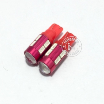Bộ led demi 2 tầng bi màu đỏ Thanh Khang