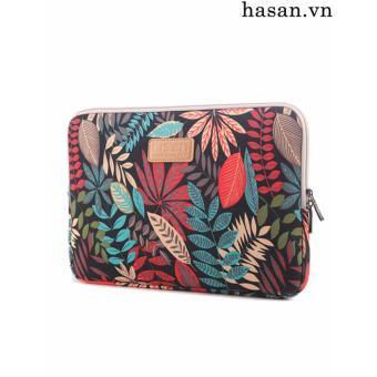 Túi chống sốc Laptop 13 inch họa tiết hoa văn - HASANTCS01