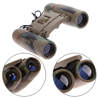 Day Night Vision 30 x 60 Zoom Travel Folding Binoculars Telescope+Case (Intl)