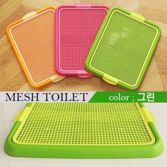 Khay vệ sinh lưới Purmi màu xanh lá
