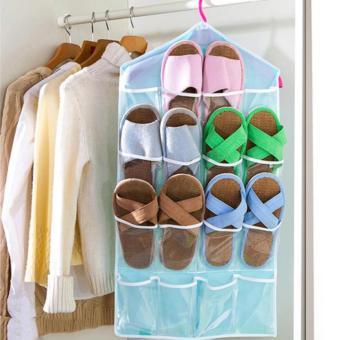 Túi vải treo đồ 16 ngăn đa năng