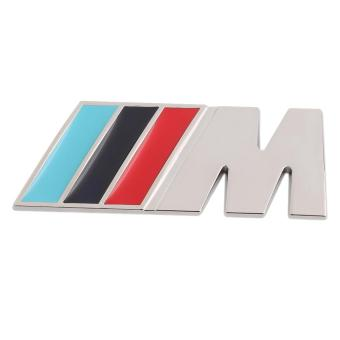 OH Sport Wheel Dashboard Badge 3D Metal Emblem Sticker Decal Logo For BMW Multicolor - intl