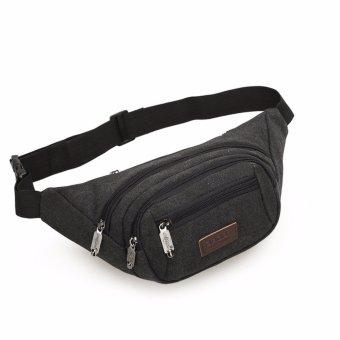 túi đeo bụng, chéo tiện lợi cho các chuyến du lịch, dã ngoại, hay các môn thể thao ngoài trời H184(ĐEN)