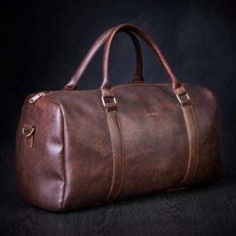 Túi xách da du lịch cao cấp HANAMA - N1 ( Nâu Cafe)