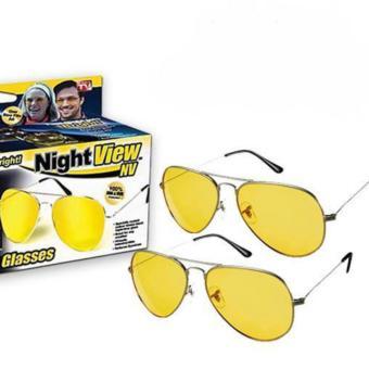 Kính đi đường ban đên Night View Glasses ( Vàng )