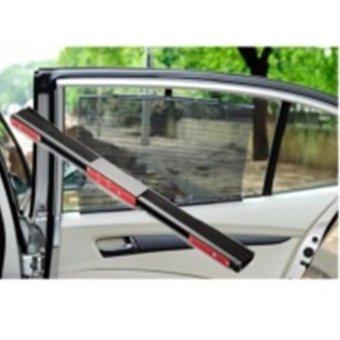 Bộ 4 rèm che nắng thông minh trên xe hơi (đen)