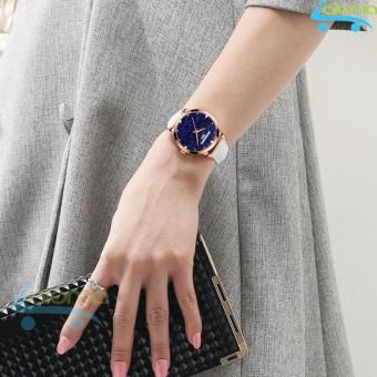 Đồng hồ nữ dây da chống nước 24mm R-ontheedge RZY-520