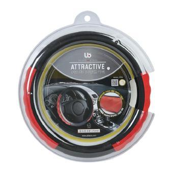 Bọc vô lăng UB Attractive 37cm (Đỏ )