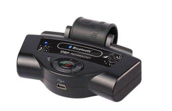 Máy nghe nhạc Mp3 dùng Bluetooth gắn tay lái Mykvn (Đen)