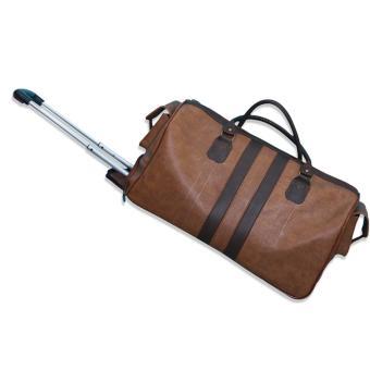 Túi du lịch kéo cao cấp GreenWay (Da bò)